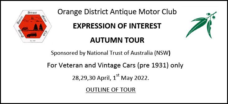 Autumn Tour 2022